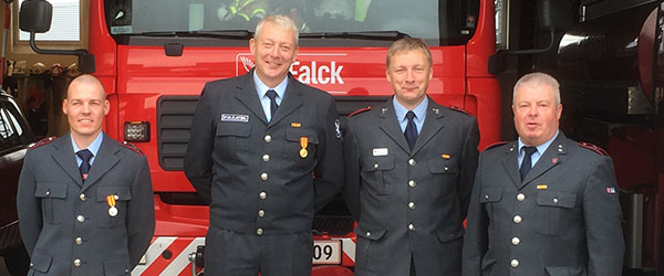 Brandmænd havde jubilæum