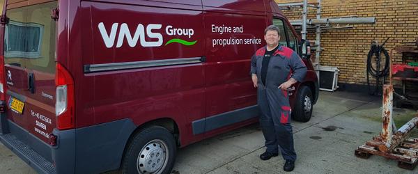 VMS Group udvider i Skagen med maritim service i verdensklasse
