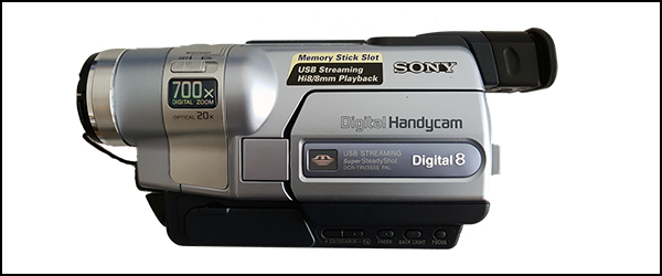 HJÆLP – vi mangler et video8 kamera