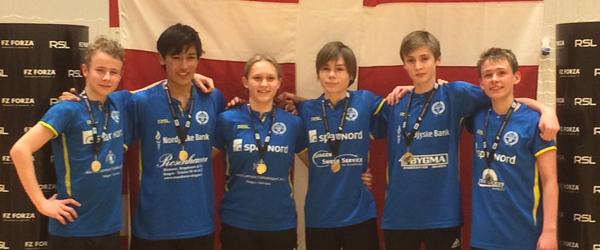 Skagen fik 6 nykårede Danmarksmestre i weekenden