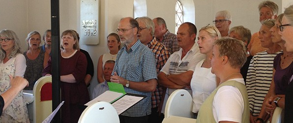 Gospel-workshop i Hulsig Kirke
