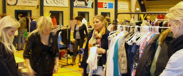 Tøj marked i Ålbæk