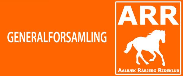 Generalforsamling i Aalbæk Råbjerg Rideklub