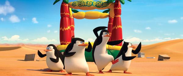 Pingvinerne indtager Biografen