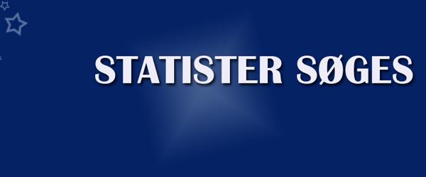 Statister søges til tv-serie
