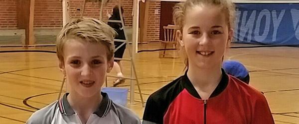 Medaljer i alle farver til spillere fra Skagen Badmintonklub