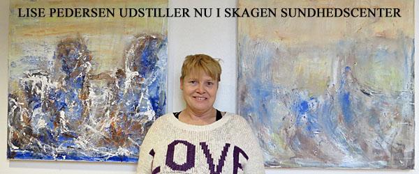 Lise Pedersen udstiller på Skagen Sundhedscenter