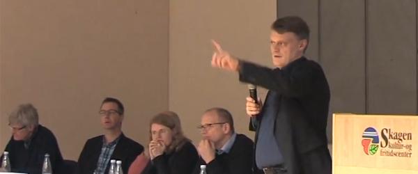 Se video fra kystsikringsmødet i Skagen Hallen