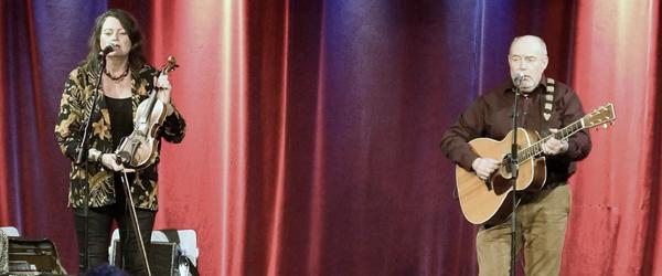 Lasse og Mathilde på scenen og privat i 40 år