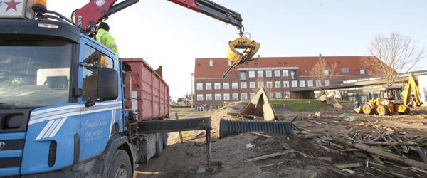 Ny legeplads på vej ved Skagen Skole