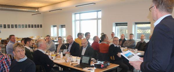 God tilslutning til generalforsamling i Skagen Erhvervsforening på Launis