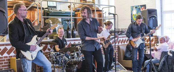 Fed groovy blues rock på Bryghuset