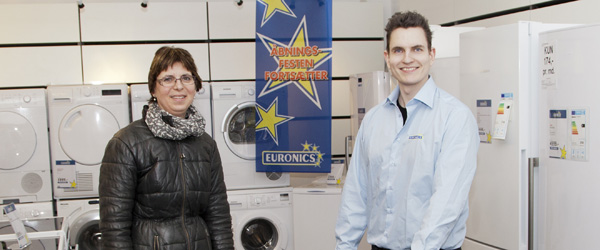 Marianne vandt en opvaskemaskine