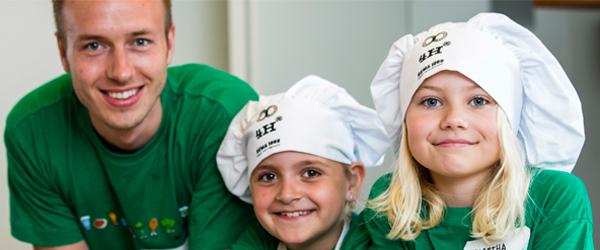 Bliv frivillig instruktør på en madskole