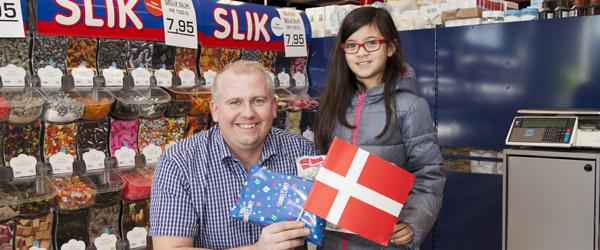 Katja og Sigurd vandt tegnekonkurrence