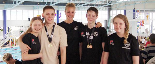 Skagen svømmere til Landsmesterskaber