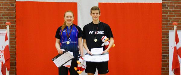 Kristoffer Weesgaard – Danmarksmester i Badminton