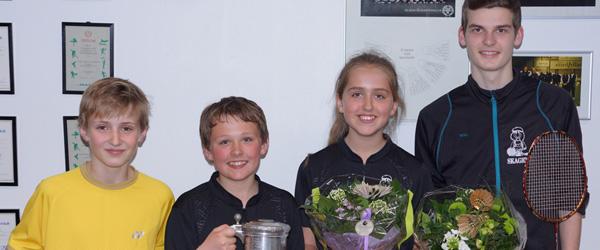 Hæder til spillere fra Skagen Badmintonklub