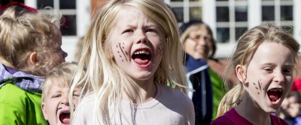 Børne- og kulturfestivalen skudt i gang