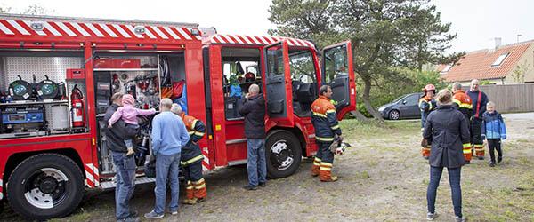 Brandmændene kiggede forbi