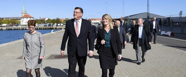 Ministerbesøg i Frederikshavn …