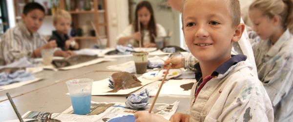 Kom med på sommerens malerskole