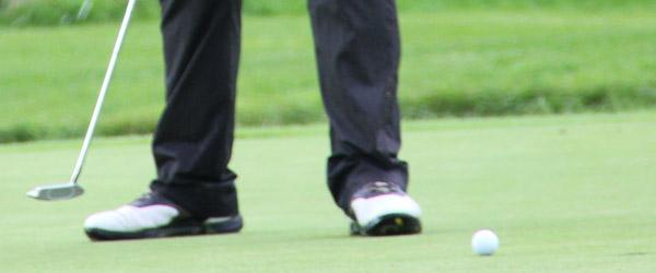 Golfarrangement aflyst