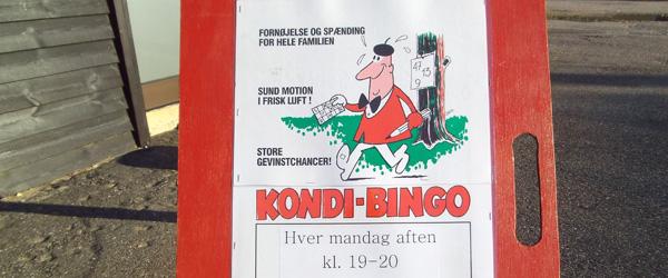 Kondibingo i Hulsig
