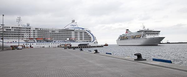 Historisk dag på Skagen Havn