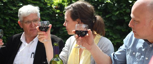 Kan du køre på en halv flaske vin?