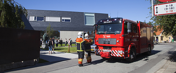 Skagens Museum evakueret