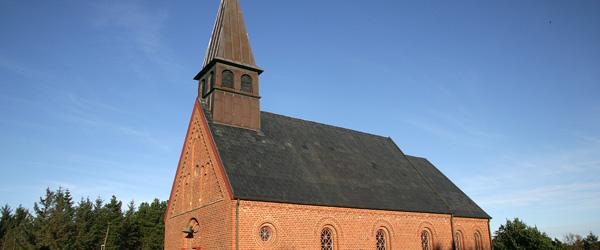 Stemningsfuld sommeraften i Hulsig kirke