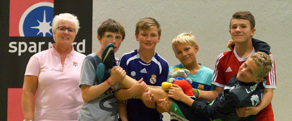 Skoleturneringen i Badminton igen en succes