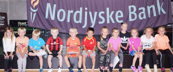 Rasmus Klump Skole-Badminton en succes