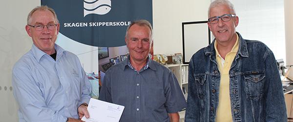 75.000 kroner til Skagen Skipperskole