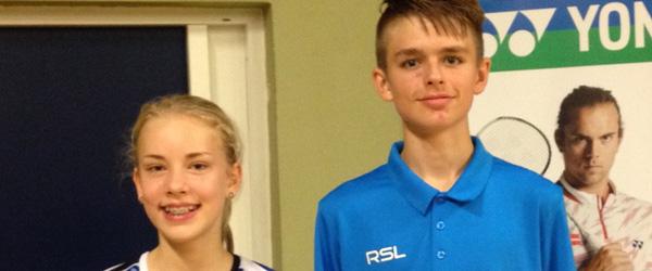 Mange medaljer til spillere fra Skagen Badmintonklub
