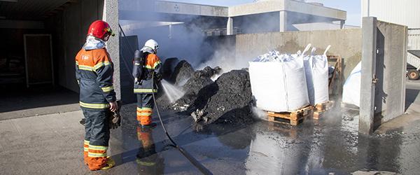 Brand hos Fiskernes Fiskeindustri