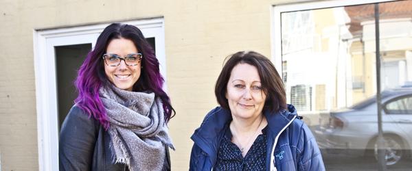 Janne og Louise åbner Frisør Columbus OPDATERET