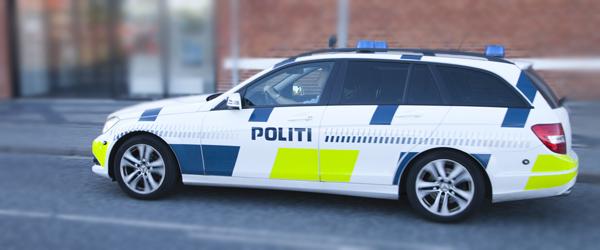 Politihunde på arbejde i Skagen