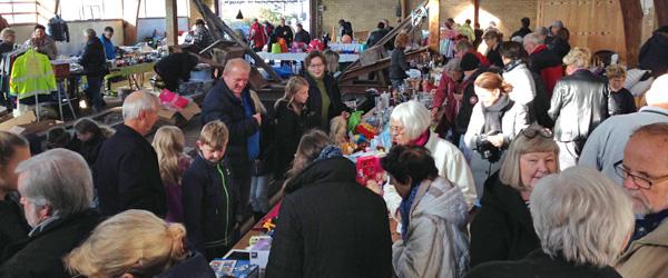 Julekræmmermarked på Ålbæk Havn