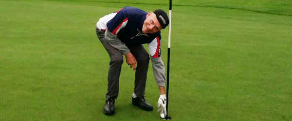 Arne lavede hole in one