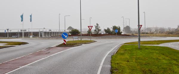 Udsmykning af rundkørsel i Skagen