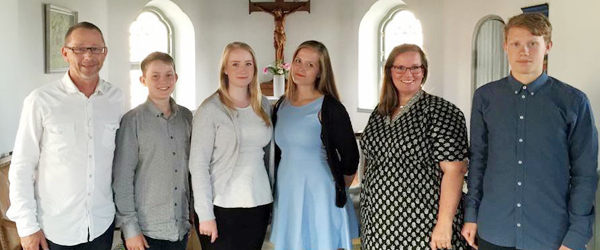 Julekoncert i Den Svenske Sømandskirke med familien Hegaard Gabrielsson