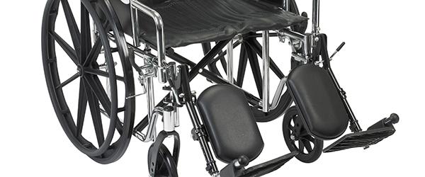 Har du en rullestol stående ? OPD.