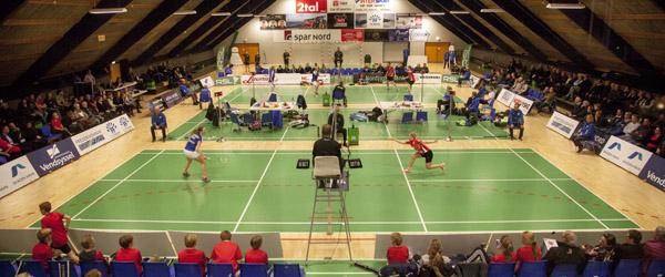 Flop i herredouble ødelagde badmintonfest i Skagen