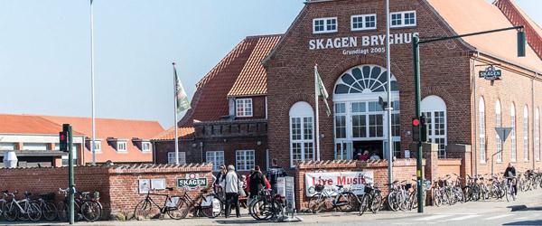 Ansigtsmaling på Skagen Bryghus