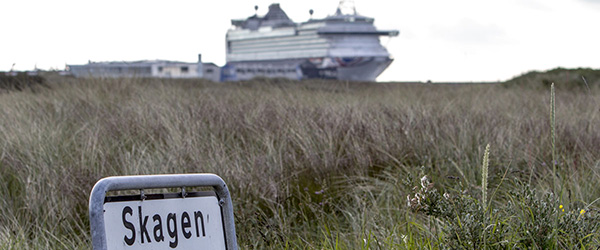 Rekordstort krydstogtskib kommer til Skagen
