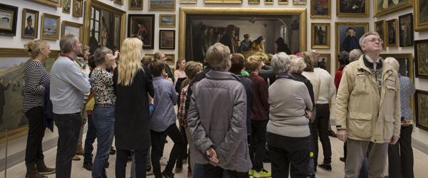 Stor succes med åbent hus på Skagens Museum
