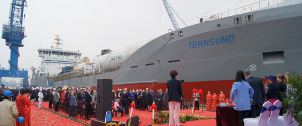Terntank navngiver LNG-drevne tankskibe