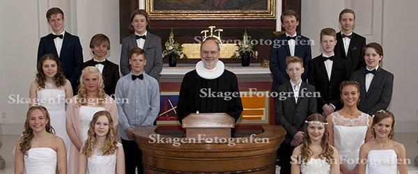 Så var det den sidste konfirmation i Skagen Kirke i år